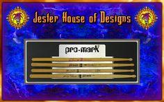 Promark Custom Drumstick wall Display