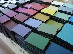 Cartas de color naturales de #fleurpaint. #deco #decoracion #interiorismo #pinturachalk #pinturaalatiza #chalkylook