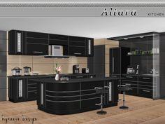 Altara Kitchen by NynaeveDesign at TSR via Sims 4 Updates