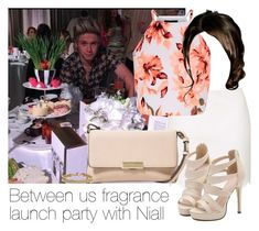 """""""Between us fragrance launch party with Niall"""" by style-with-one-direction ❤ liked on Polyvore featuring Topshop, MANGO, Blue Nile, OneDirection, 1d, NiallHoran and niall horan one direction 1d"""