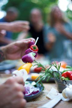 Met deze tips organiseer jij thuis een healthy barbecue #barbecue #food