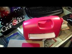 Peggy shows you the sandwich to use in the Grand Calibur for all your Embossing Folders including Sizzix, Cuttlebug, M-Bossabilities, Couture Creations and m...