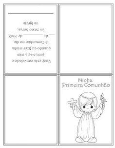 Catequizando Crianças: Convites Primeira Comunhão 2