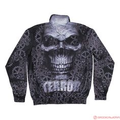 Terror Trainingsjacket Gear Skull (Black) | 814-003-050