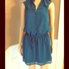 "☀️PIPERLIME☀️Tinley Road NWT Empire Dress SZ S☀️ So cute for spring & summer! Sleeveless measures approx 33"" bust, adjustable waist.  100% polyester for super easy care! Tinley Road Dresses"