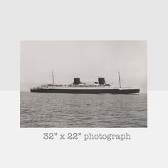 ss bremen ocean liner original photograph ss by homeandhomme