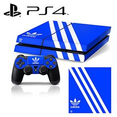 CiYuOnline VINYL SKIN PS4  ShoeBox 1 Adidas Originals Logo Shoe Box  Whole Body STICKER DECAL COVER for PS4 Playstation 4 System Console and Controllers *** Learn more by visiting the image link.Note:It is affiliate link to Amazon.