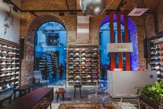 Adidas Originals flagship store by Stereotactic Moscow  Russia