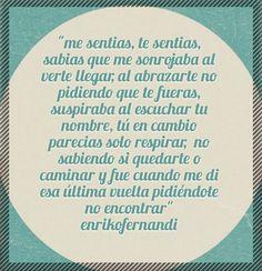 Y tu que sientes ..#frases #quotes #amantedeletras #poemas #love.
