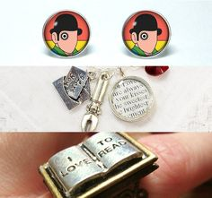 Jewelry for Book Lovers: An Etsy Roundup | Quirk Books : Publishers & Seekers of All Things Awesome