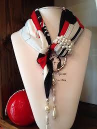Risultati immagini per foulard gioiello