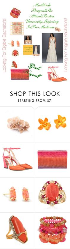 """Debutante Ball!"" by sinmrn ❤ liked on Polyvore featuring Jimmy Choo, Nancy Gonzalez, Kendra Scott, Ross-Simons, De Buman, Mixit and Sans Tabù"