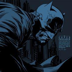 Series: Gotham's Finest by Zaahir Effendi, via Behance