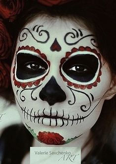 Sugar Skull - I am so in love with them.