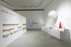 tani_07_Keizo_Kioku Exhibition Display, Exhibition Space, Museum Exhibition, Showroom Design, Interior Design, Design Museum, Exhibit Design, Booth Design, Retail Design