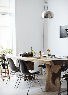 ChicDecó: 10 bellos comedores naturales10 natural stylish dining areas