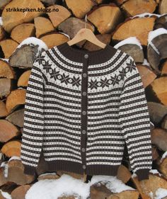Baby Knitting Patterns, Free Knitting, Norwegian Knitting Designs, Fair Isles, Knit Crochet, Men Sweater, Jumpers, Clothes, Fashion