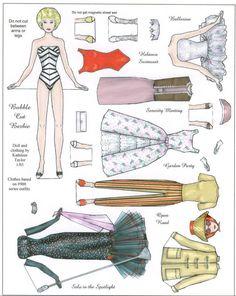 barbie magnet