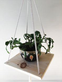 Macrame Plant Hanger / Modern Macrame / Macrame by FigandFiber