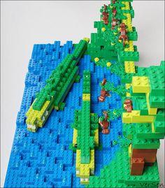 Маленькие дети! Ни за что на свете не ходите в Африку, в Африку гулять! | DoubleBrick: Российское сообщество энтузиастов LEGO!