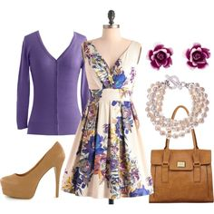 wonderfully accessorized. great photoshoot outfit, i wish I could get my clients to dress like this