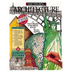 Start Exploring Architecture: A Fact-Filled Coloring Book: Peter Dobrin, Helen Driggs: 9781561382378: Amazon.com: Books