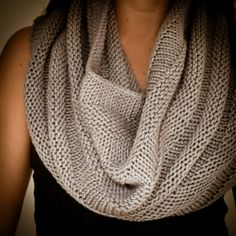 Victoria Snood | This Cowgirlblues' circular hand-knitted scarf is perfect for winter.