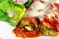 Chicken and basil cannelloni – Recipes – Bite