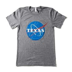 Space Grey Texas, We Have A Tee Unisex T-shirt - Texas Humor Store - 1