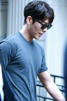 Kim Woo Bin Them muscles