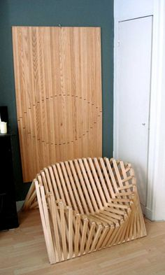 A whole new folding chair... Silla plegable