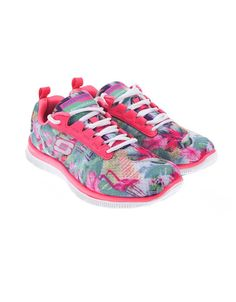 Skechers - Růžové dámské sportovní tenisky se vzorem  Floral Bloom - 1 Sketchers, Running Shoes, Bloom, Treats, Sneakers, Fashion, Runing Shoes, Sweet Like Candy, Tennis