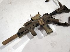 SMGLee approve HK416.