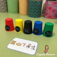 Game of crazy glasses – Pictograms ARASAAC - Parenting Infant Activities, Writing Activities, Preschool Worksheets, Preschool Activities, Elementary Spanish, Phonological Awareness, Literacy Centers, Alphabet, Crafts For Kids