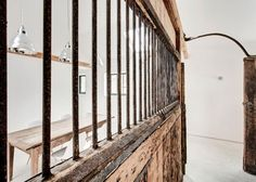 AR Design converted Manor House stable, wall: Remodelista