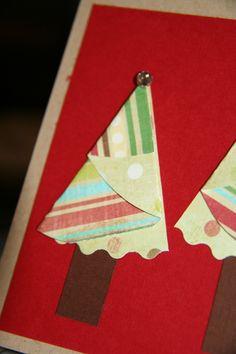 paper folded tree