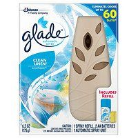 Glade Automatic Spray Clean Linen 1 ea  2pc >>> Click image to review more details.