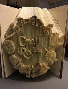 Craft Room, Combi Cut and Fold Book Folding Pattern 459 pages 23cm Book Height