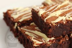 Brownie with extra chocolate! Wonderful :D