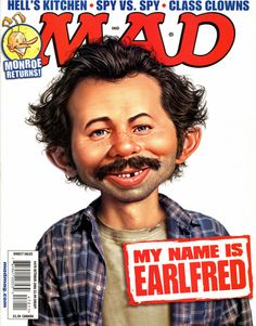 Mad Magazine's 10 Best (and 3 Worst) TV Show Parodies Mad Magazine, Magazine Images, Magazine Covers, Magazine Articles, Alfred E. Neuman, My Name Is Earl, Mad Tv, Pdf Magazines, Culture Pop