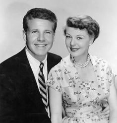 Ozzie Nelson  March 20, 1906 - June 3, 1975 and Harriet Nelson July 18, 1909 - October 2, 1994.