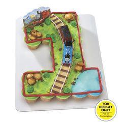 cupcake number Thomas cake