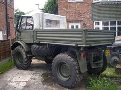Ex-military / ex-MOD / MERCEDES BENZ UNIMOG U900 406 / agricultural vehicle | eBay
