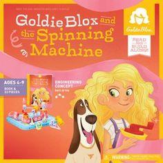 GoldieBlox - The Spinning Machine Story & Construction Set