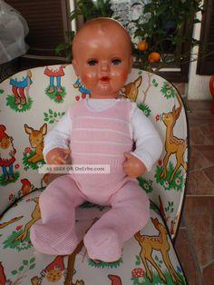 Alte Schildkröt Puppe Strampelchen Celluloid Babypuppe Mit Kleidung Puppen & Zubehör Bild