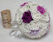 wedding bouquet, bride bouquet, bridal bouquet, bridesmaids bouquet, wedding flowers, white wedding, purple wedding