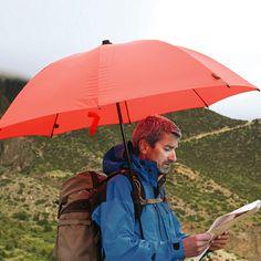 Swing handsfree trekking umbrella