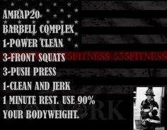 Barbell complex #workout