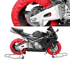 Motorcycle Tire Tyre Warmer Racing Track Day 110-120 Front / 180 Rear