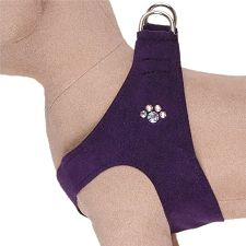Susan Lanci Crystal Paw Step-In Dog Harness   Puppy Harnesses at GlamourMutt